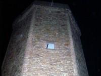 Signál Keltského telegrafu z věže